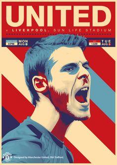Manchester United v. Liverpool. Sun Life Stadium.