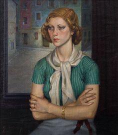 Soledad, 1939 by Gerardo Sacristán Torralba (Spanish, 1907 - 1964)