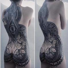 16 Exquisite Ornamental Style Tattoos | Tattoodo.com