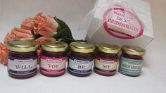 Will you be my Bridesmaid Jam Gift Set by InNonnasKitchen on Etsy