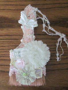 Shabby Chic Altered Paint Brush - Scrapbook.com