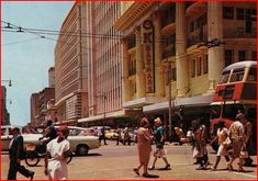 The OK Bazaars in the Golden Acre building was the place to shop.