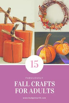 15 Fabulously Fall Crafts for Adults