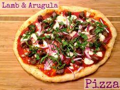 Ideal Lamb u Arugula Pizza M is for Mimosa