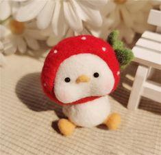 Duck Felting Kit Needle Felting Kit Duck Felting Kits | Etsy All You Need Is, Beginner Felting, Needle Felting Kits, Starter Kit, Wool Felt, Objects, Make It Yourself, Christmas Ornaments, Knitting