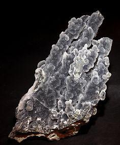 Chalcedony on basalt / Jalgaon District,  Maharashtra, India