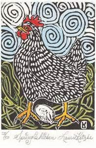 chicken Printing Block - Bing Images