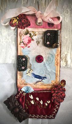 Tag Art - #1 Bird by Christine LeFever