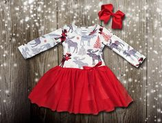 Wild Winter Tutu Dress: on SALE for $13.50 with a share and here for one week!