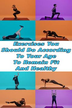 healthy living strategy: Exercise According To Your Age And Stay Healthy Fitness Plan, Fitness Tips, Health Fitness, Fitness Exercises, Workout For Beginners, Fun Workouts, How To Stay Healthy, Healthy Living, Weight Loss