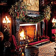 fireplace at Biltmore