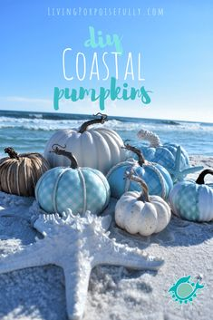 Decorating Your Home with Elegant Christmas Decorations Blue Fall Decor, Fall Home Decor, Autumn Home, Autumn Fall, Coastal Fall, Coastal Decor, Coastal Style, Coastal Living, Theme Halloween