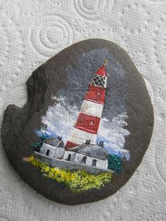 Eccles Lighthouse on Stone by ~dg-86 on deviantART