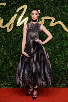 Erin O'Connor Design: Giles Deacon