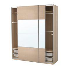 PAX Armoire-penderie - 200x66x236 cm, accessoire de fermeture silencieuse - IKEA