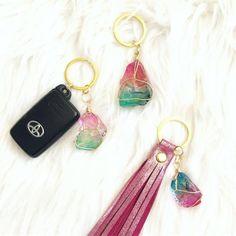 Details about  /Cowhide Tassel Bag Purse Charm Key Chain Zipper Pull Hair on Hide