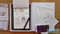 Recensione Wacom Bamboo Slate http://www.sapereweb.it/recensione-wacom-bamboo-slate/        Wacom Bamboo Slate Wacom Bamboo Slate permette di avere una copia digitale di un foglio scritto a penna. Non è una tavoletta grafica e non è uno scanner; non ha nemmeno bisogno di un computer per funzionare. Basta usare una penna apposita su di un blocco di carta comune, e poi premere l...