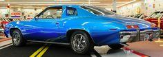 1973 Pontiac GTO - code 26 Regatta Blue