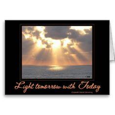 Sunset of Inspiration Card