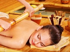 Massage Therapy Training With Bamboo
