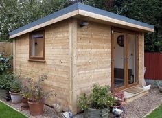 The modern sheds are being selected almost fifty percent of the time. Compared to our Classic Garden Sheds these sheds are only about 15% more. They make backyards look current and contemporary. ...
