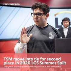 TSM move into tie for second place in 2020 LCS Summer Split #TSMWIN #RiotGames #LCS #LeagueOfLegends #Pinoygamer