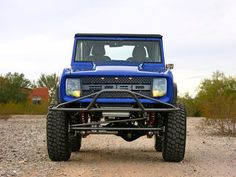 Raptor Grill on an old Bronco Jeep Truck, 4x4 Trucks, Cool Trucks, Cool Cars, Bronco Truck, Bronco 2, Classic Bronco, Classic Ford Broncos, Classic Trucks