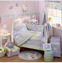 Hello kitty Baby room decor