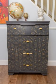 Classic mid century re-do, love this!