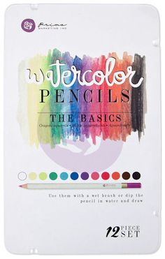 Prima - Mixed Media - Watercolor Pencils - The Basics at Scrapbook.com