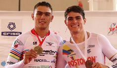 Campeonato Panamericano de Pista Fabián Puerta medalla de oro en la Velocidad. Bronce para Santiago Ramírez - Revista Mundo Ciclistico