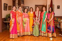 Bridal Party at Pakistani Wedding Family Portrait Photography, Family Portraits, Portrait Photographers, Lgbt Wedding, Destination Wedding, Pakistani, Sari, Engagement, Bridal
