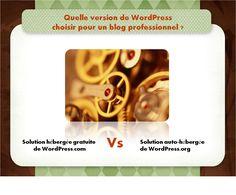 Une réflexion s'impose à tout professionnel qui souhaite tenir un blog WordPress pour relayer son actualité et promouvoir ses services/produits en ligne. Avant même de se lancer dans la publication d'articles, il lui appartient de choisir celle des solutions d'hébergement - gratuite ou auto-hébergée - proposées par Wordpress qui répond le mieux à ses besoins.