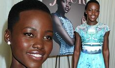 Prints charming! Lupita Nyong'o shines in bright patterned dress at party thrown to celebrate her new magazine cover
