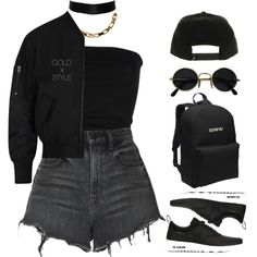 VIDEO. by goldxstyle on Polyvore featuring Acne Studios, Alexander Wang, Laneus and NIKE