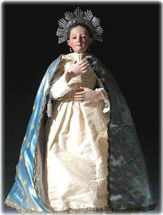 Inmaculada, talla vestidera