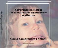 Connaître les étapes de la maturation émotionnelle des enfants pour mieux les comprendre et les accompagner.