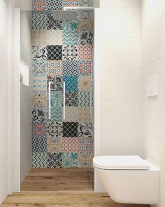 Le plus récent Pic Patchwork bathroom Concepts Modern Bathrooms Interior, Bathroom Interior Design, Interior Decorating, Bathroom Design Small, Bath Design, Small Space Solutions, Bathroom Bath, Color Tile, Bathroom Renovations