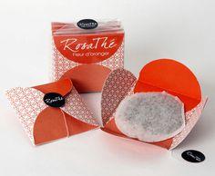 tea packaging | UQAM | Sylvain Allard