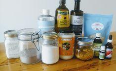 Top 10: ingrédients de base pour faire ses cosmétiques maison Make Beauty, Going Natural, Free Tips, Tree Oil, Body Care, Coconut Oil, Mason Jars, Sweet Home, Health