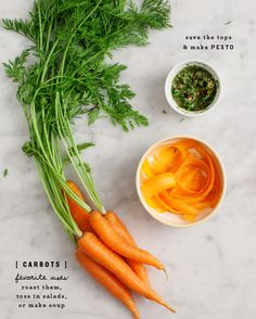 Carrot Top Pesto / www.loveandlemons.com