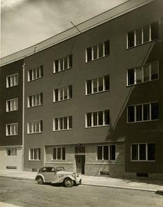Atelier de Sandalo - Apartment building (Arch. Berthold Schwarz) Na Bitevní pláni 21, Praha