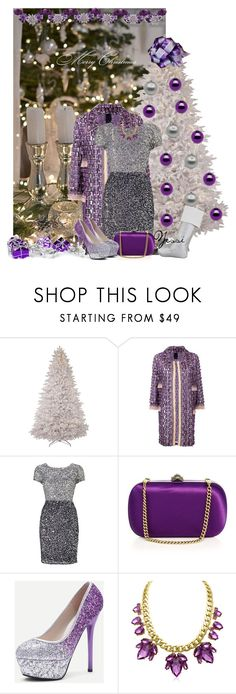 """""""~ 💕 Merry Christmas 💕 ~"""" by pretty-fashion-designs ❤ liked on Polyvore featuring Anna Sui, Adrianna Papell and Gucci"""