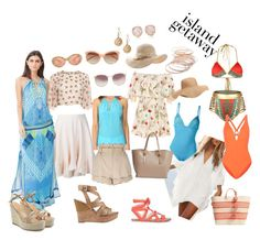 """""""Let's go!"""" by houseofdahlia on Polyvore featuring Gap, Lilly Pulitzer, La Perla, GUESS, Fendi, Sole Society, Chloé, Moschino, Linda Farrow and Old Navy"""
