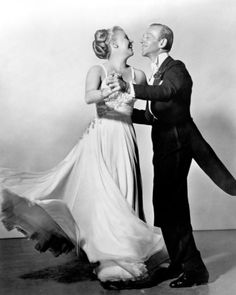 My favourite dress ever. Ginger Rogers and Fred Astaire in The Barkleys of Broadway