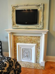 8 Easy & Decorative Ways to Hide Your TV The Decorating Files