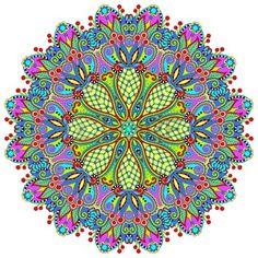Círculo de encaje ornamento, patrón geométrico pañito ornamental ronda, ilustración vectorial Foto de archivo