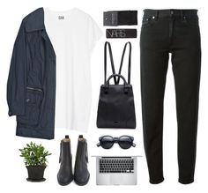 """""""ELIZABETH"""" by shootingfor-adventures ❤ liked on Polyvore featuring Oak, Burberry, Acne Studios, Apple, Pour La Victoire, SELECTED, NARS Cosmetics and adventurestopsets"""