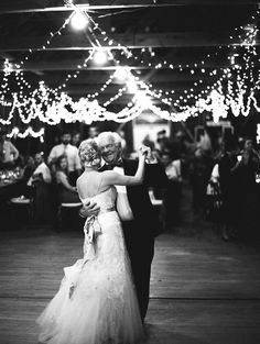 In LOVE with this Father-Daugher-Dance shot!!! See the wedding here: http://www.StyleMePretty.com/2014/04/07/rustic-farm-to-table-wedding-in-montana/ Jeremiah And Rachel Photography - jeremiahandrachel.com on #SMP