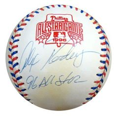 Alex Rodriguez Autographed 1996 All Star Game Baseball PSA/DNA #P41480 . $179.00. This is an Official 1996 All Star Game baseball that has been hand signed by Alex Rodriguez. This autograph is certified authentic by PSA/DNA and comes with their sticker and matching certificate of authenticity.